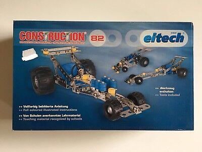 Eitech Construction 82 Metallbaukasten Rennauto Auto NEU + OVP