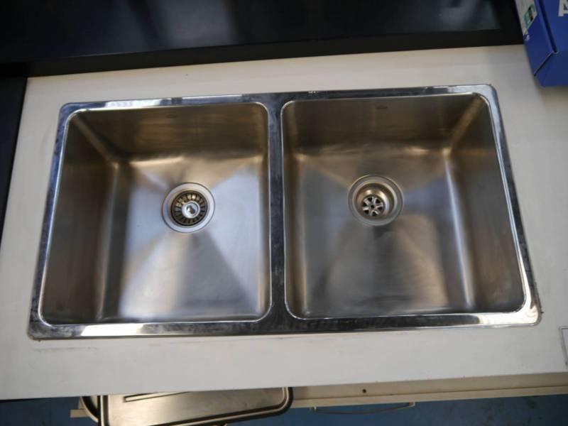 New Abey Lago Insert LG200 Kitchen Sink incl Drain Tray & Board ...