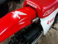 2002 XR 100 R.  BRAND NEW MOTOR FROM HONDA.     $1200 or trade