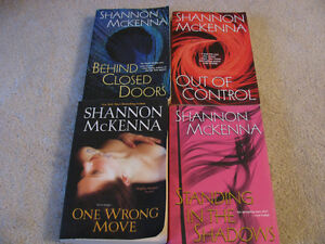 ADULT ROMANCE AND EROTIC NOVELS BY SHANNON MCKENNA