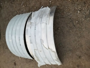 Aluminum single axle Fender