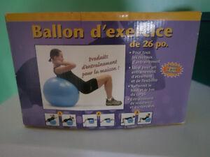 Ballon exercice