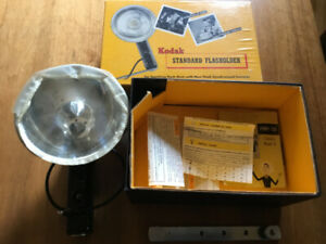 Vintage Kodak Standard Flasholder in Box No. 72F - camera parts