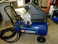 Hampbell Hausfeld 8 gal. Oil-Lubed Compressor