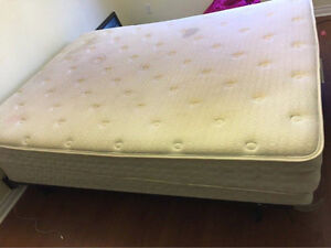 Beautiful Sealy Mattress, Box, Frame--Delivery HRM