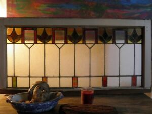 Antique STAIN GLASS