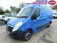 VAUXHALL MOVANO 2.3CDTI 16v 100ps L2H2 M/ROOF MWB 3300 AIR/CON PARKING SENSORS