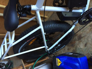 Wild goose -48V white Daymak ebike  - new - just took out of box