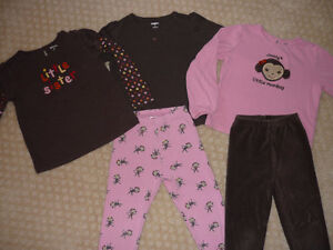Girl's Gymboree Leggings Outfits - size 5
