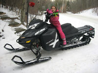 2013 Ski Doo Summit X 154 XM E start