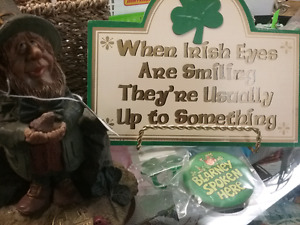 Luck of the Irish in finding your collectible 1000 booth's