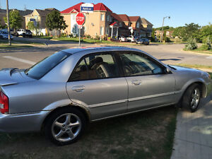 2002 Mazda Protege DX/LX/ES Sedan