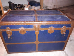Antique chest table