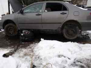 PARTING OUT 2005 TOYOTA COROLLA