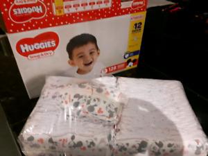 Huggies size 6 diapers