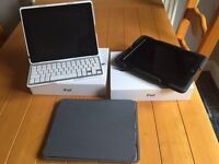 2 X Ipad 4 128gb with 3G cellular. Includes cases