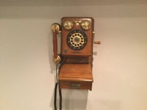 Thomas replica wall mount telephone