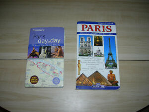 2 PARIS TRAVEL GUIDES.....