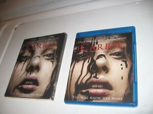 CARRIE COMES WITH 2 DICS'S BLU - RAY AND DVD.