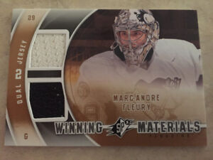 Marc Andre Fleury Duel Jersey card