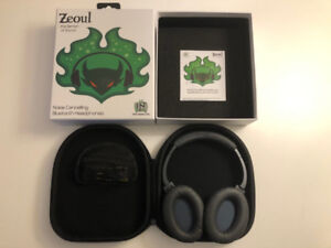 Zeoul Noise Cancelling Bluetooth Headphones Brand New.