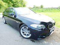 2011 BMW 5 Series 520d M Sport 4dr DAB! Heated Seats! 4 door Saloon