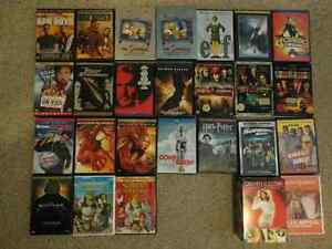 DVDs Movies, TV series, Exercise