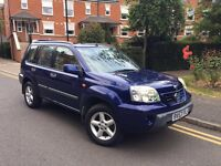 2003/53 REG NISSAN X-TRAIL 2.0 SPORT ** 1 F OWNER ** CHEAP £1195