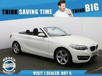 2016 BMW 2 Series 218I SPORT Convertible Petrol Manual