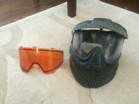 JT Paintball Mask with 2 lenses