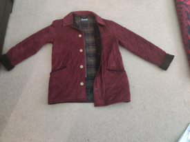 Male/ Female Barbour lightweight jacket