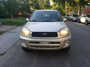Rav4 2001 à vendre