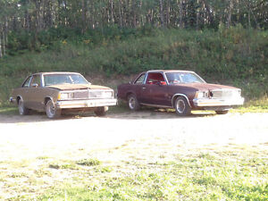 1978 Malibu with 1981 parts car good project
