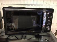 Wilko Black Microwave