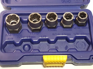Irwin Bolt Grip / Stud Extractors Base Set