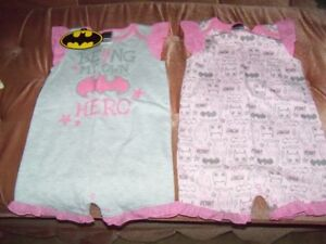 Baby Outfits Bat Girl size 12-18 months, Brand New, etc.