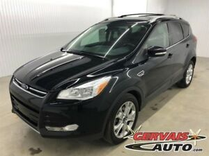 Ford Escape Titanium AWD GPS Cuir Toit Panoramique MAGS 2016
