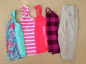 Ivivva Tanks and Crops size 12 Lot