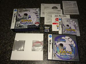 Nintendo DS Pokemon Soulsilver 100% Complete Mint Firm Price