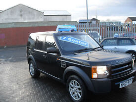 Land Rover Discovery 3 2.7TD V6 2008 GS 7 SEATER, CHOICE OF 3