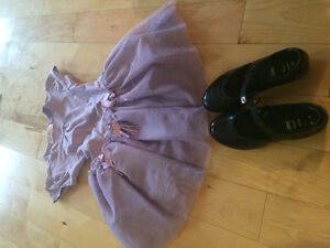 maritime dance bodysuit and tapshoes