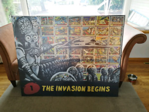 Mars Attacks Large Print/Painting