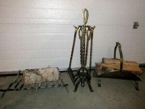 Antique Fireplace & accessories complete and solid Regina Regina Area image 2