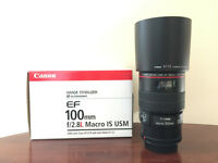 Canon EF100mm F/2.8L Macro IS USM (Image Stabilizer, Ultrasonic)