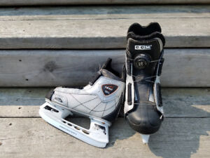 CCM  BOA Skates size youth 12