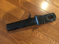 2' Master lock Trailer hitch receiver with lock