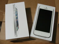 iPhone 5 16GB White - Perfect Condition - Bell/Virgin
