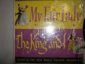 The New World TheatreOrchestra My Fair Lady/The King and I Album