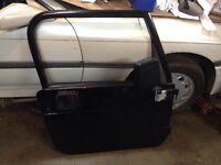 Jeep TJ full complete steel doors black $500 for pair