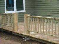 Custom Decks and Fences